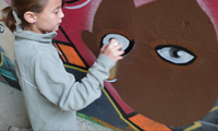 11 Year Old Girl Graffiti Writer