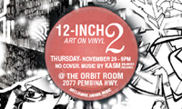 Reminder: 12 inch Art Show Tomorrow
