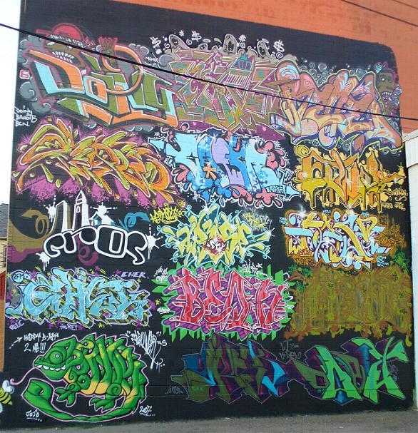 Writers Block Graffiti Art