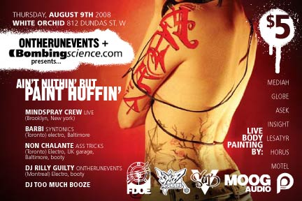 Aint Nothin' But Paint Huffin'
