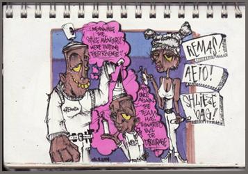 Filthy Varmint Sketch