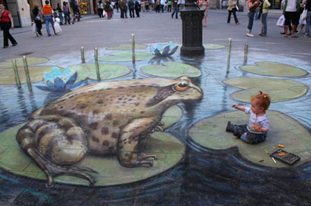 Street Painting and Sidewalk Chalk Art
