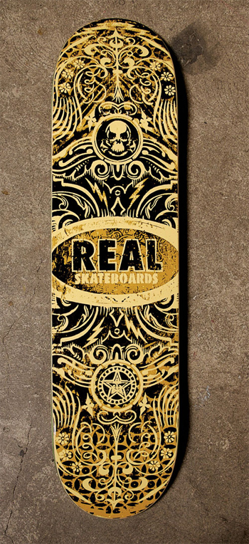 Real Obey Skateboards