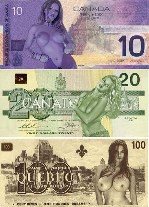 canadian naked money girls sexy