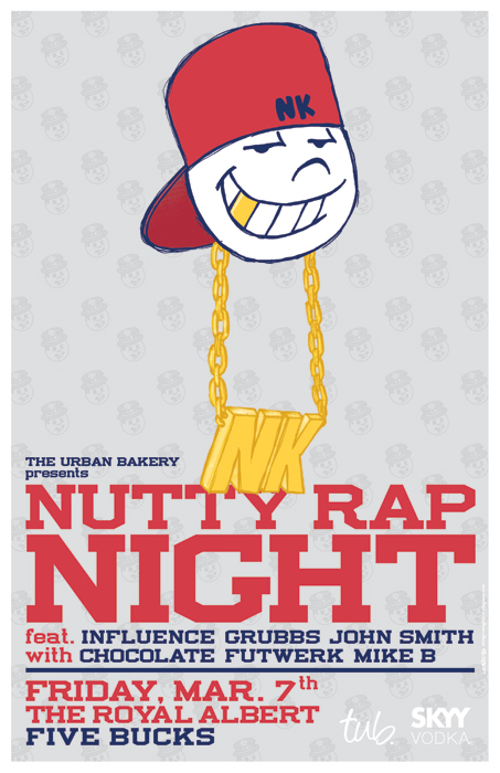 Nutty Rap Night