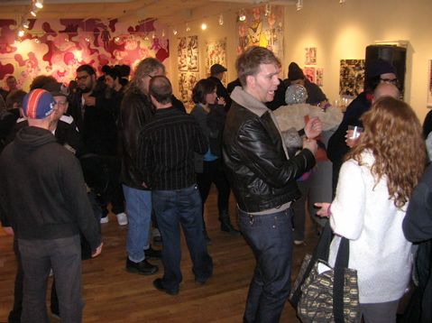 AIKO and Lady Pink Art Show Photos