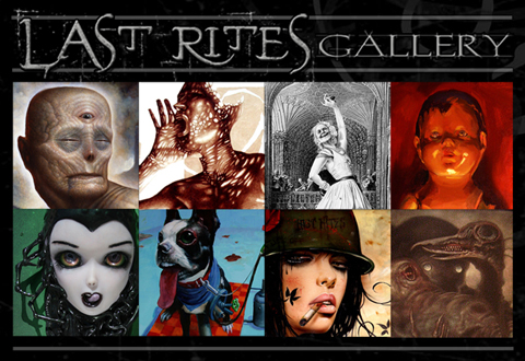 Last Rites Gallery's first exhibition is called Transgression,