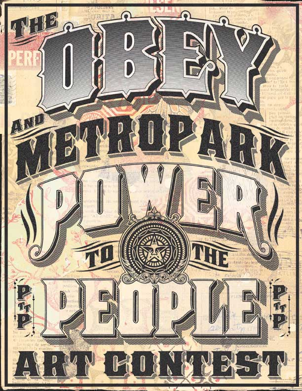 Obey and Metropark Art Contest