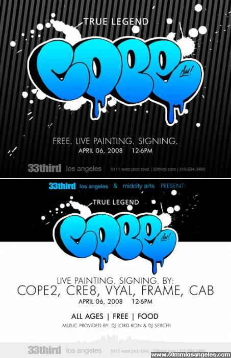 Cope 2 Live Painting