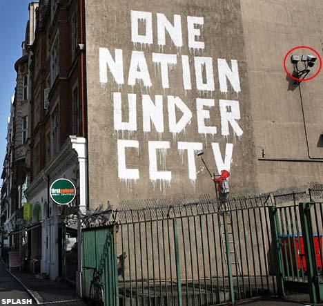 New Banksy Graffiti Street Art