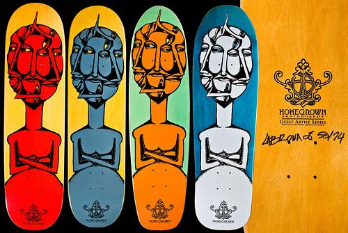 Labrona Homegrown Skateboard Decks