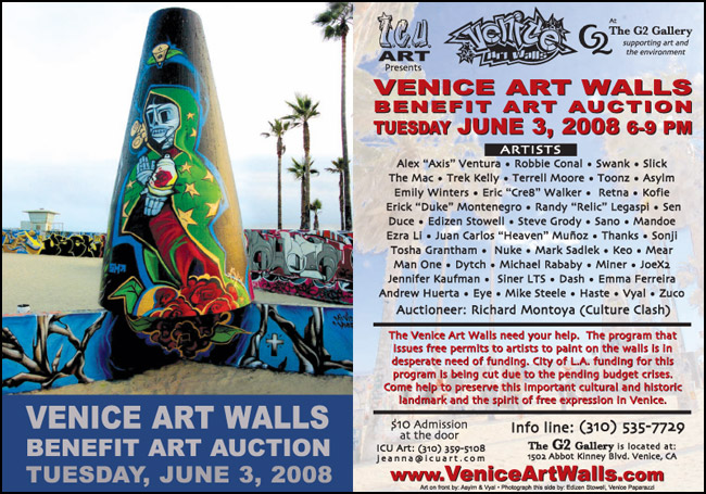 Venice Art Walls Benefit Art Auction