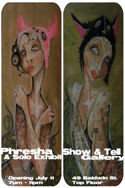 phresha show and tell gallery toronto