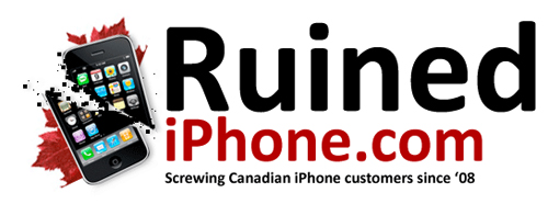 ruined iphone canada