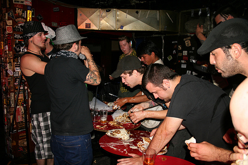 Deafwish Pancake Eating Contest Photos
