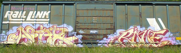 Afex Rove Freight Graffiti