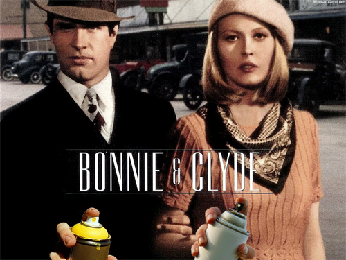 The Bonnie & Clyde of Graffiti