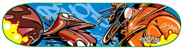 Jersey Joe Skateboard
