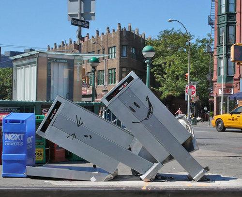 Banksy Phones New York