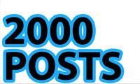 Senses Lost 2000 Posts