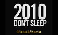 Manifesto 2010 Toronto