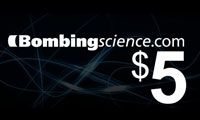Bombing Science 5 Dollars Off Coupon