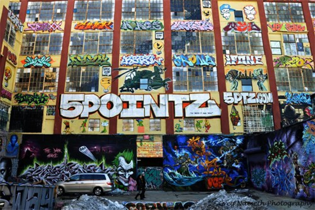 5 pointz graffiti new york city