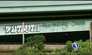 DOT Officials Trying to Stop 9-11 Truth Graffiti