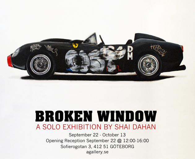 BROKEN WINDOW SHAI DAHAN