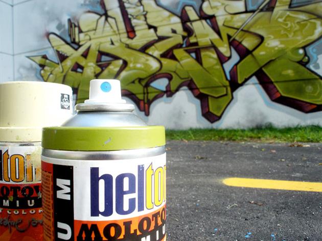 Geser Asuem Graffiti