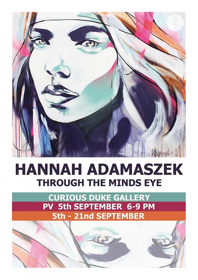Hannah Adamaszek Solo Show Flyer