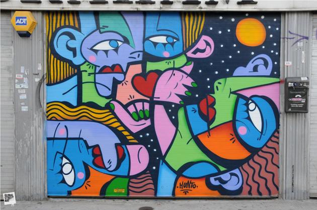 Hunto graffiti