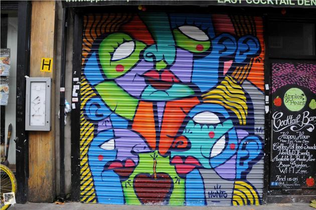 Hunto door painting