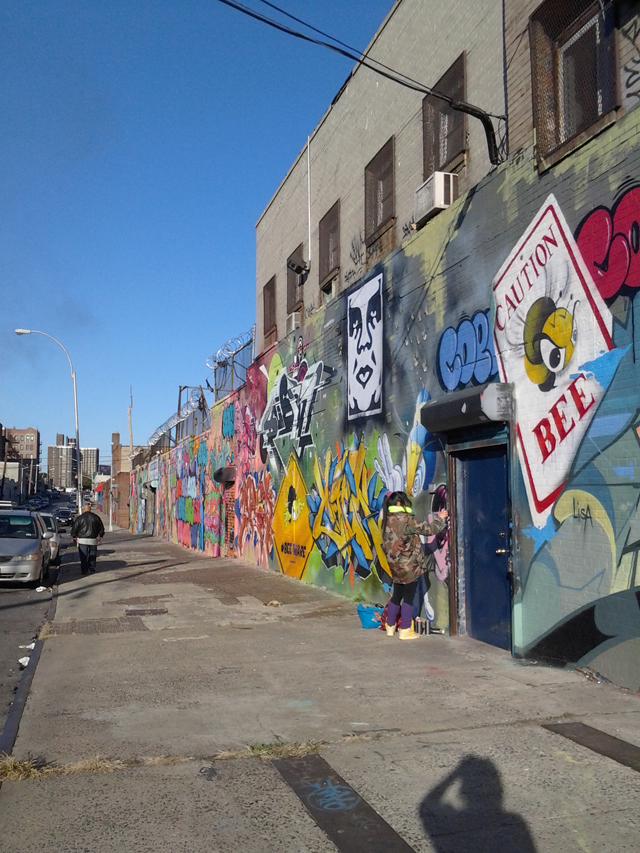 Sand One Graffiti New York City