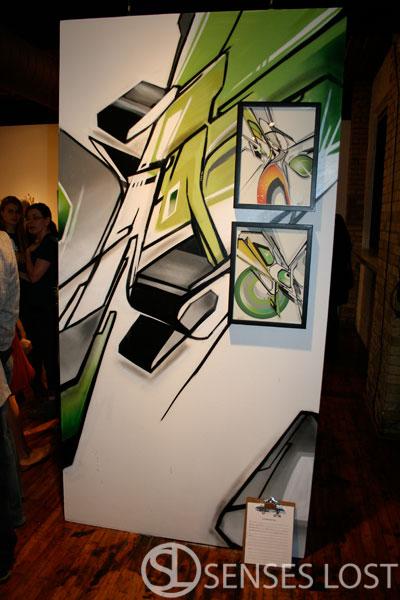Mediah Rise Art Opening 2009