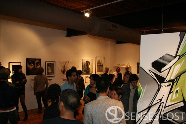 Rise Art Opening Toronto 2009