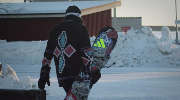 Kalle Ohlson Snowboarding