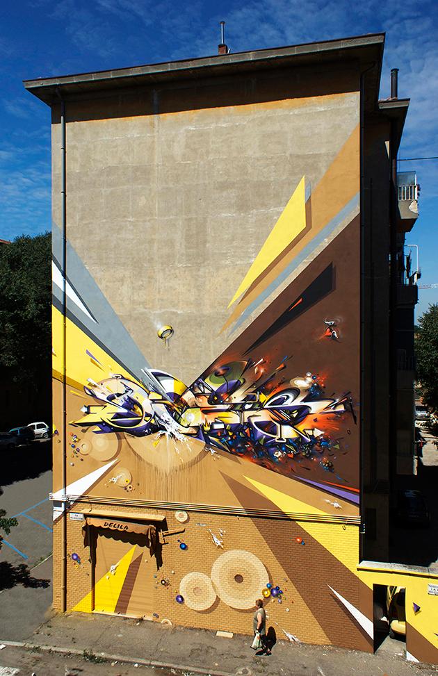 Mural Bologna Italy 2012