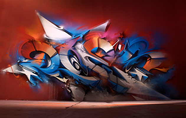 Mural Melbourne Australia 2013