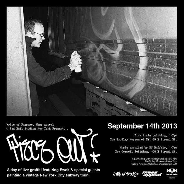 Piece Out Graffiti Event