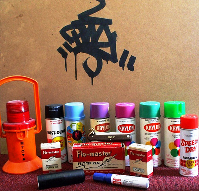 Priz One Graffiti Tools