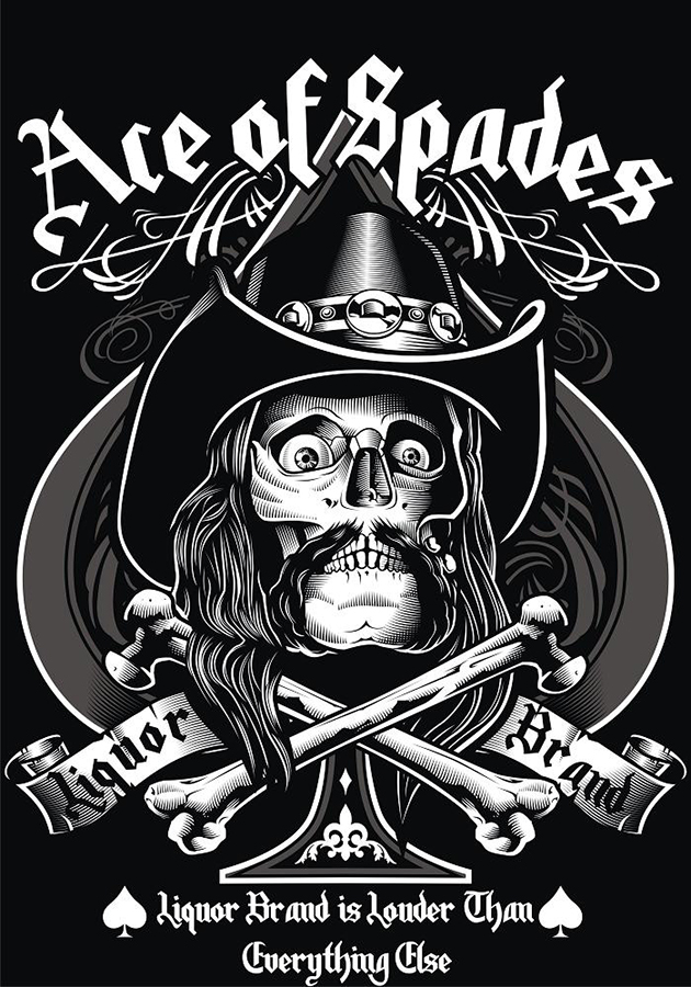 ace of spades illustration