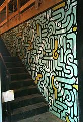 aaron de la cruz stairway painting