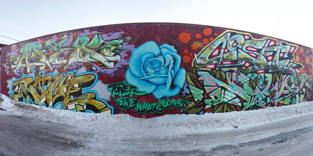 Epic afex rove tower coset norway graffiti calgary