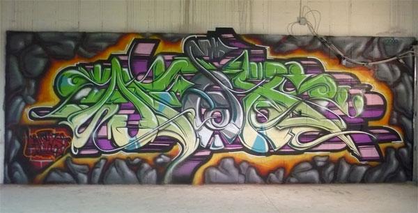 Afex Graffiti Wall