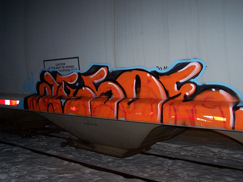 Aksoe Freight Graffiti