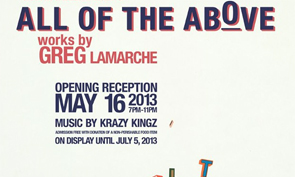 Greg Lamarche – All of the Above