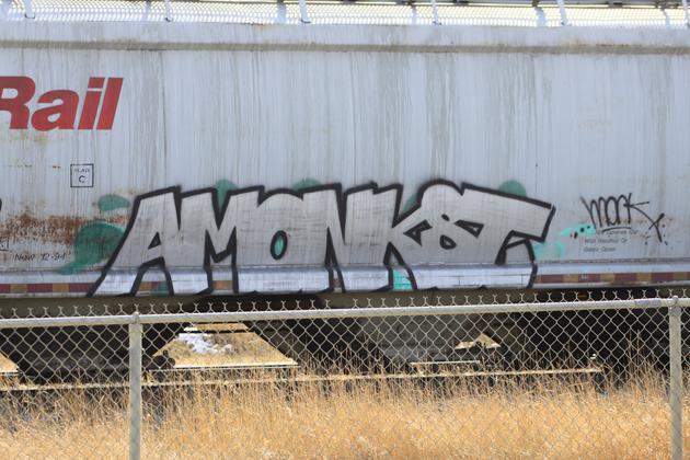 amonkst graffiti