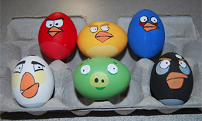 Cartoon Easter Egg Designs