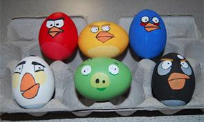 Cartoon Easter Egg Designs
